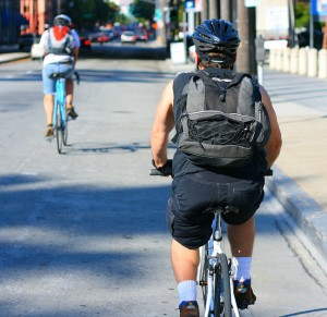 Bike backpack