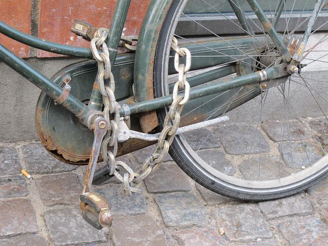 how to open og bike lock