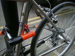 D-lock and wheel loop