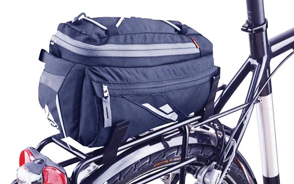 rear mounted bicycle rack bag