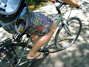 Hybrid bicycle casual cycle to work