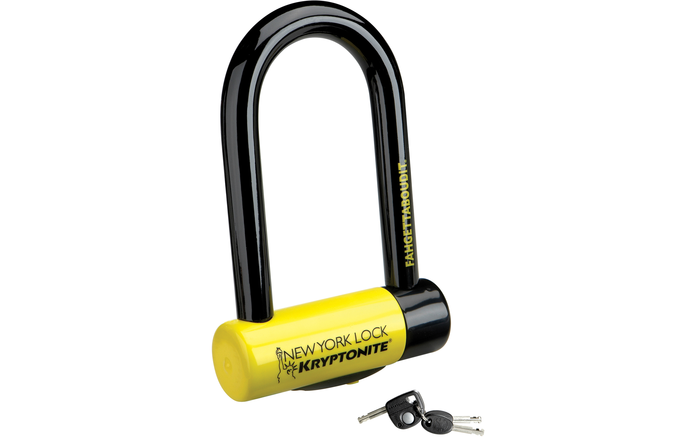 kryptonite new york fahgettaboudit mini lock secure cycle u lock. Black Bedroom Furniture Sets. Home Design Ideas
